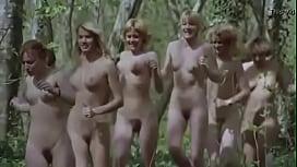 Naked Teens Running In woods