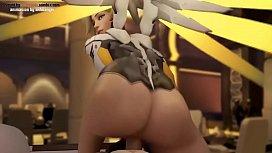 Mercy Love Overwatch Compilation