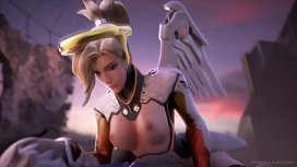 Mercy Love Overwatch Compilation