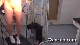 Examination on the gynecological chair of a dildo and a vibrator (04) preview