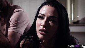Couple Lucas and Katrina cheer  up ebony babe Jenna