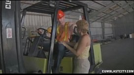 Sucking The Worker'_s Boner