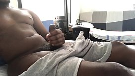 Playing with my dick- gummy to cummy