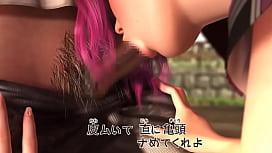 【3D】公園の遊具の穴にハマってしまったギャル先輩。パシリにされている仕返しにハマった先輩にハメてやる!8