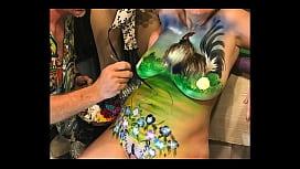 Applying Edible Paint(Country Girl Rooster) xxx image