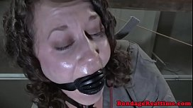 Drooling gagged submissive gets hardfucked xnxx image