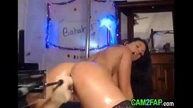 Webcam Machine Fuck Squirt Free Amateur Porn Video