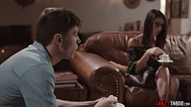 MILF widow gets manipulated and fucked by teen neighbor
