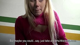 Lady boss banged pov in car shop for cash
