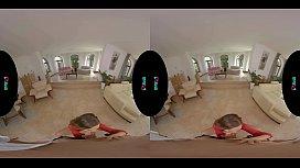 VRHUSH Smoking hot brunette Tina Kay takes your cock in VR