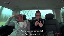 Blonde horny called by Wendy Moon show horny tornado to dude in van