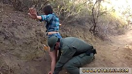 Wife beach blowjob Kayla West was caught lusty patrool during border