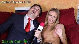Sarah Jain naked smokes with Andrea Dipr&egrave