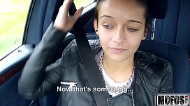 Hooking Up with a Stranded Teen video starring Vanessa Rodriguez Mofoscom