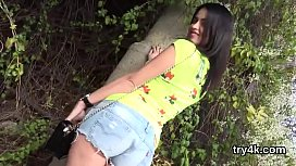 Cuddly Chick Gives Oral Pleasure In Pov And Gets Juicy Muff Penetrated