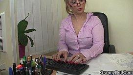 He fucks nau mature office woman