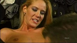 Rocco Siffredi'_s blonde slave in stockings buggered