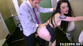Danny D feeds spoiled Alessa Savage his big thick cock