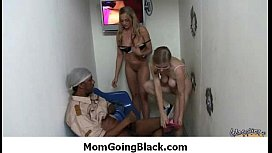 My mom is getting fucked by a black monster cock 24