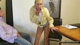 Paris Rewards Her Top Salesman