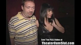 MILF Slut Gets Anal Creampies From Strangers In Tampa Porn Theater preview