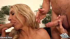 Busty Emma Starr gets fucked and facialized