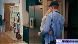 Sex Tape With Busty Naughty Housewife (Amber Jayne) clip-03