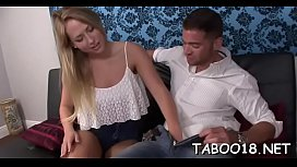 Sinful Carter Cruise blows before doggy