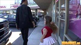 Horny Midget Slut Picks Up Guy
