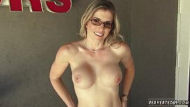 Kinky family mom and playfellow'_s daughter '_ partner sniff Cory Chase
