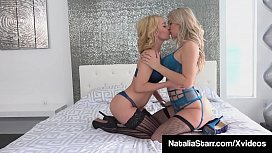 Bi-Sexual Natalia Starr &amp_ Aaliyah Love Cum Together!