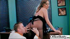 Slut Horny Girl Alexis Adams With Big Melon Tits Enjoy Sex In Office Video-2