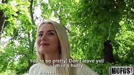 Blonde Hottie Fucks Outdoors video starring Aisha Mofoscom