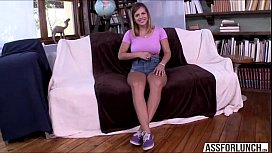 Brunette hot babe Keisha Grey loves cowgirl position
