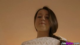 Teen amateur pov railed