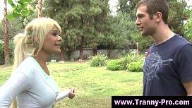 Tgirl ladyboy blowjob action