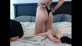 Amazing Blonde Fucked On Webcam