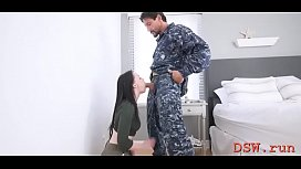 Prurient maiden Athena Rayne gets hammered from behind