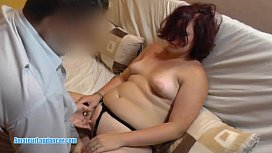 Licking fingering and pussy fuck for chubby amateur