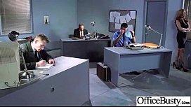 (julia ann) Big Round Tits Girl Enjoy Sex In Office clip-23