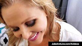 Stepson Fucks Milf Julia Ann Deep In Mature Muff!
