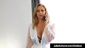 Stepson Fucks Milf Julia Ann Deep In Mature Muff!