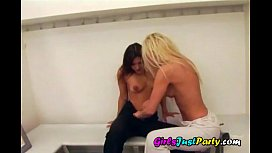 Young lesbians pussy addiction