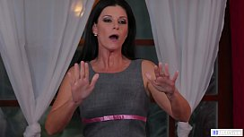 India Summer Catches Charlotte Stokely and Kendra Spade Fooling around before the Wedding