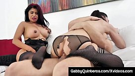 Mexican Milf Gabby Quinteros Shares Dick With Jessica Jaymes