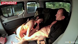 Petite Asian girl getting railed by local Driver