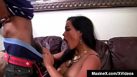 Asian Star Maxine-X Gets Anal Creampied By Big Black Cock!