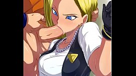 Android 18 Blowjob