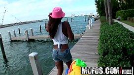 Mofos - Latina Sex Tapes - (Sierra Santos) - Hosing Down Her Sweet Tits