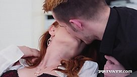 Private.com - Gorgeous Redheaded Ella Hughes Gets Fucked!